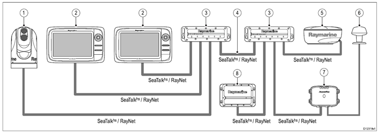 Raymarine Seatalk Wiring Diagram Download