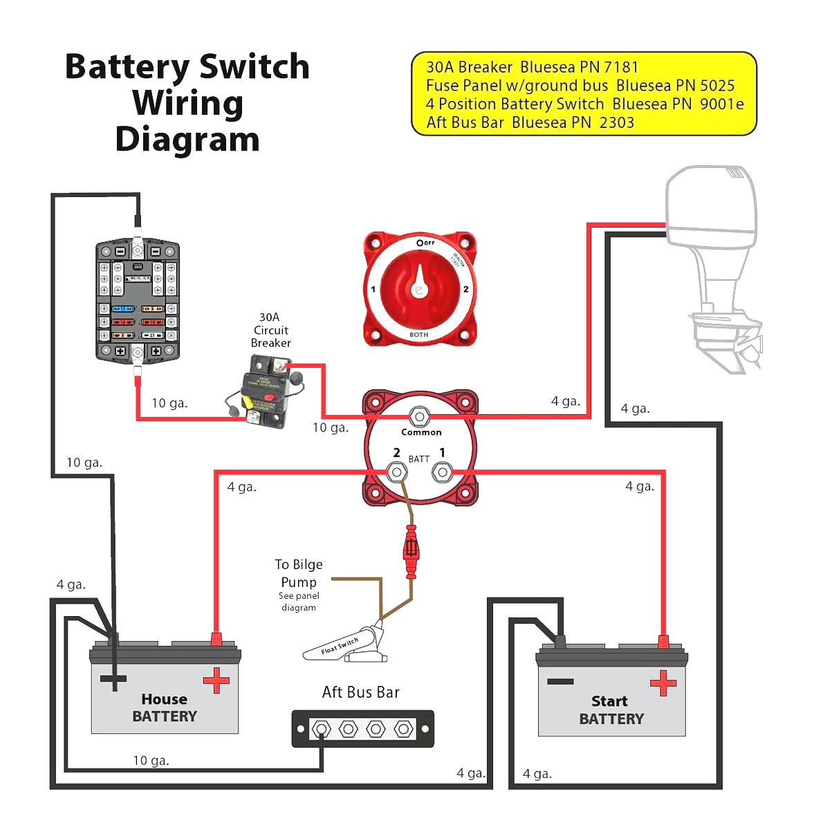 Rv Battery Disconnect Switch Wiring Diagram Gallery