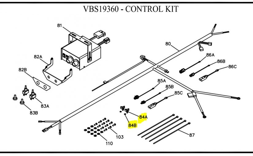 salt dogg spreader wiring diagram Download-Boss Part VBS Thumb Screw and Rubber Washer 14-g