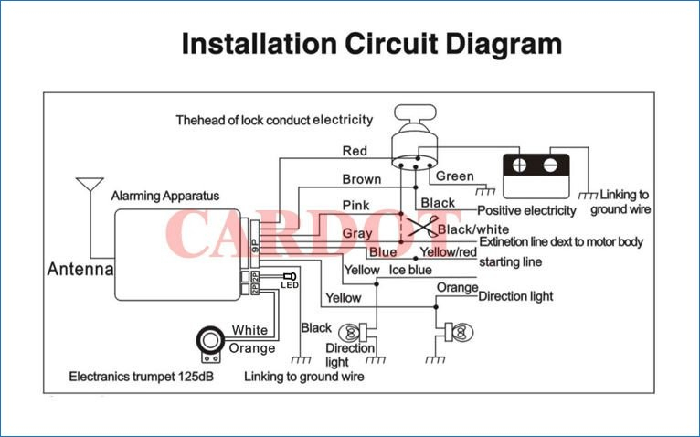 scooter alarm wiring diagram gallery