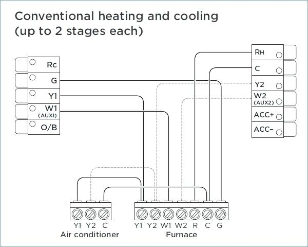 single stage thermostat wiring diagram Collection-product review thermostat system single stage heat cool 2 furnace best for gas wiring diagram 9-i