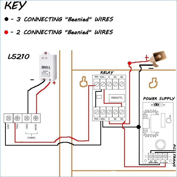 smart home wiring diagram Collection-door access control wiring diagram Download Honeywell Sirenkit Od Outdoor Siren Kit for Lynx touch 16-g
