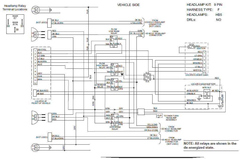 snowdogg plow wiring diagram Collection-Snowdogg Snow Plow Wiring Diagram Lovely Fantastic Western Unimount Plow Wiring Diagram ford Contemporary 9-l