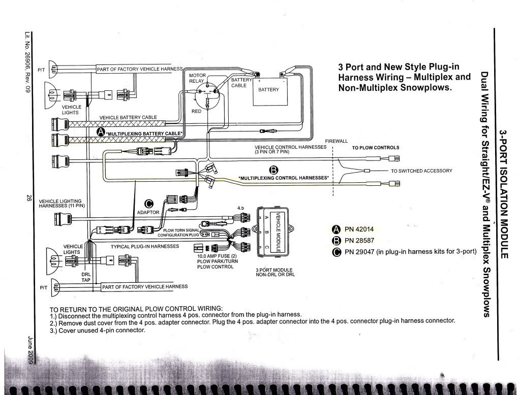 snowdogg plow wiring diagram Download-Snowdogg Snow Plow Wiring Diagram New Fantastic Western Unimount Plow Wiring Diagram ford Contemporary 16-s