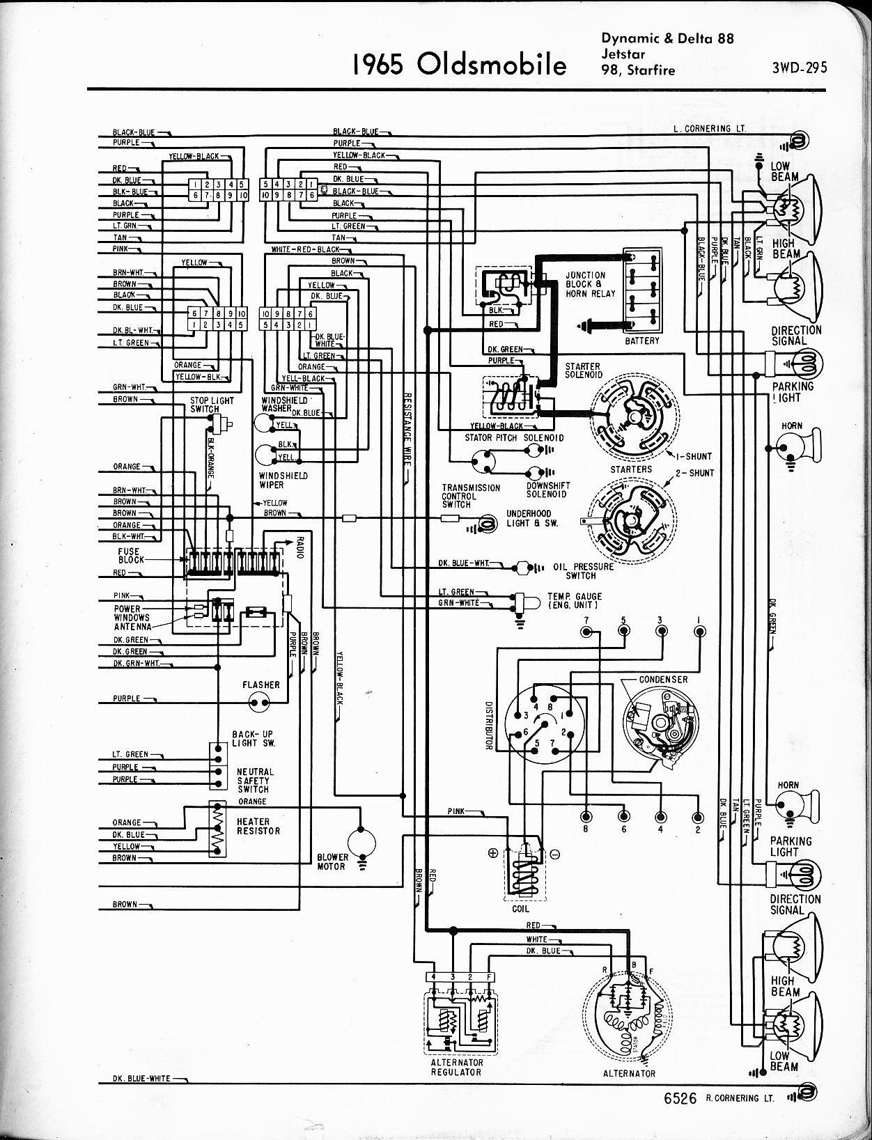sole f63 wiring diagram Download-oldsmobile wiring diagrams the old car manual project rh oldcarmanualproject 4-p