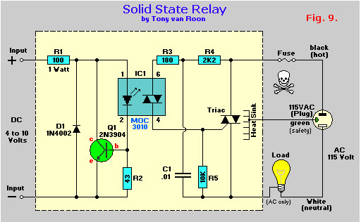 solid state relay wiring diagram Collection-Dc Relay Circuit Diagram Beautiful 40 Best Dc solid State Relay Circuit Diagram 3-p