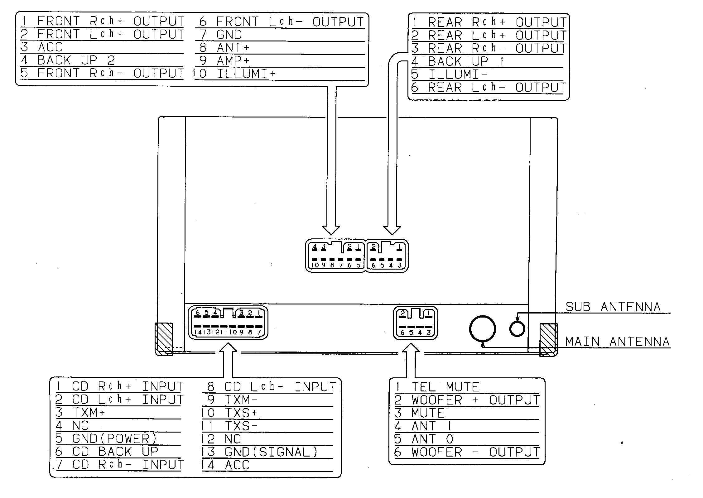 sony marine stereo wiring diagram Collection-Wiring Harness Diagram for A sony Xplod Radio Wiring Diagram for Sony Radio Wiring Diagram 12-a