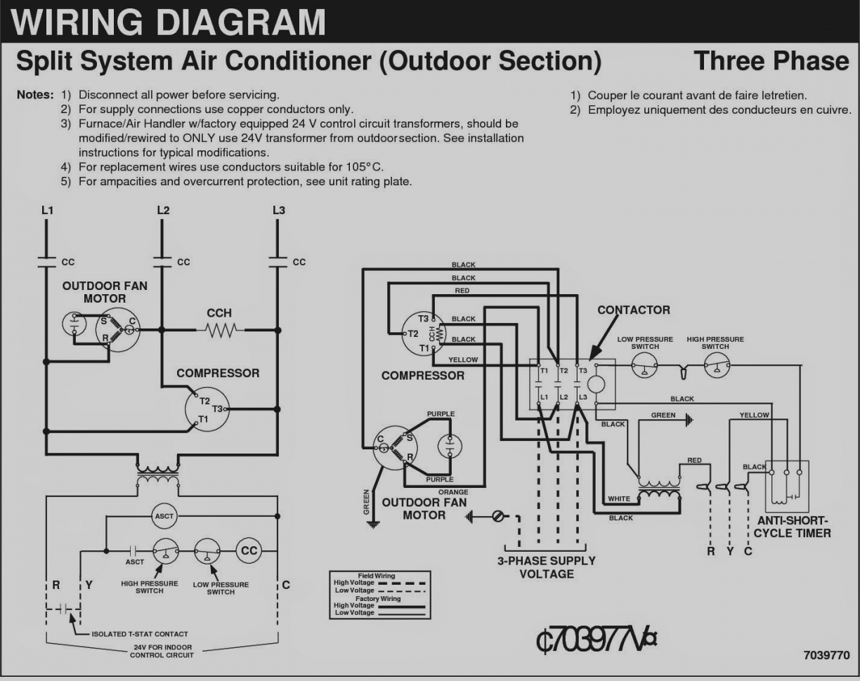 split air conditioner wiring diagram Collection-Beautiful 3 Phase Ac Electrical Wiring Diagrams Split System Air Conditioner Diagram Admirable Fig 13 4-d