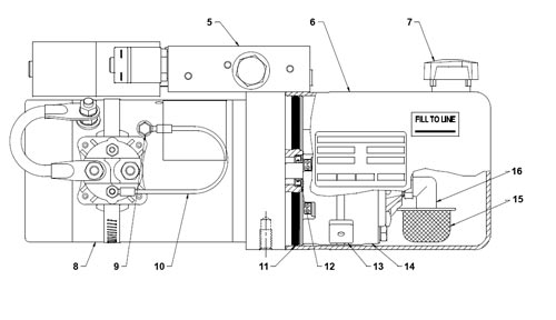 spx stone hydraulic pump wiring diagram Collection-DC 80SPC Parts Side View 9-j