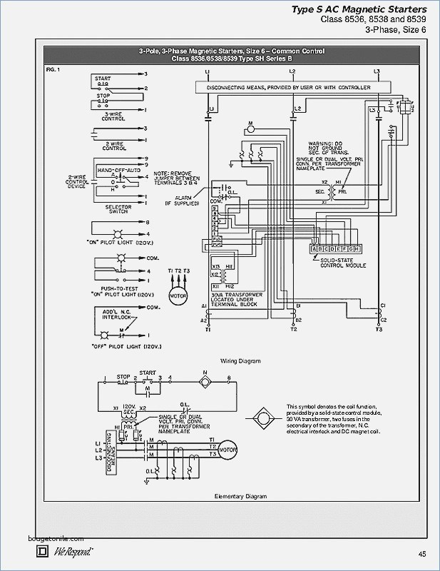 square d combination starter wiring diagram Download-Colorful How To Wire A Motor Starter 3 Phase Festooning Everything 5-k