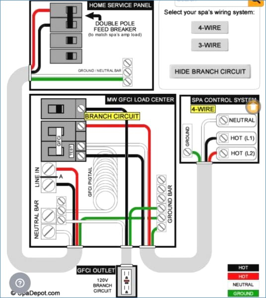 square d hot tub gfci breaker wiring diagram Download-How To Wire In A Hot Tub Minimalist Guamnewswatch 13-e