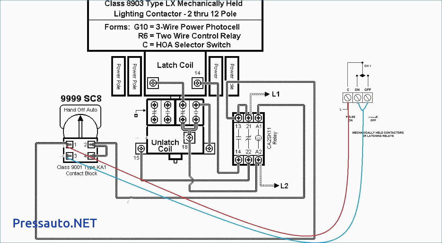 square d lighting contactor class 8903 wiring diagram Download-lighting contactor wiring diagram with photocell Beautiful Wire A Contactor Step 8 In Magnetic Wiring Diagram 2-n