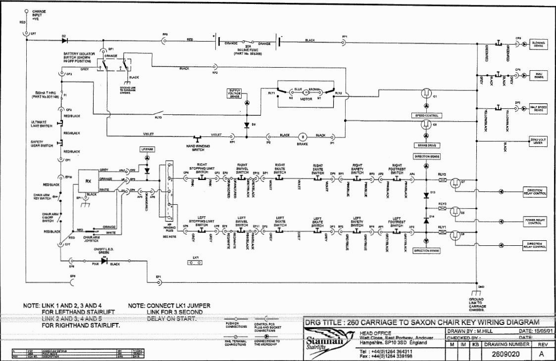 stannah 420 wiring diagram Download-Stannah Stair Lift Wiring Diagram 14-d