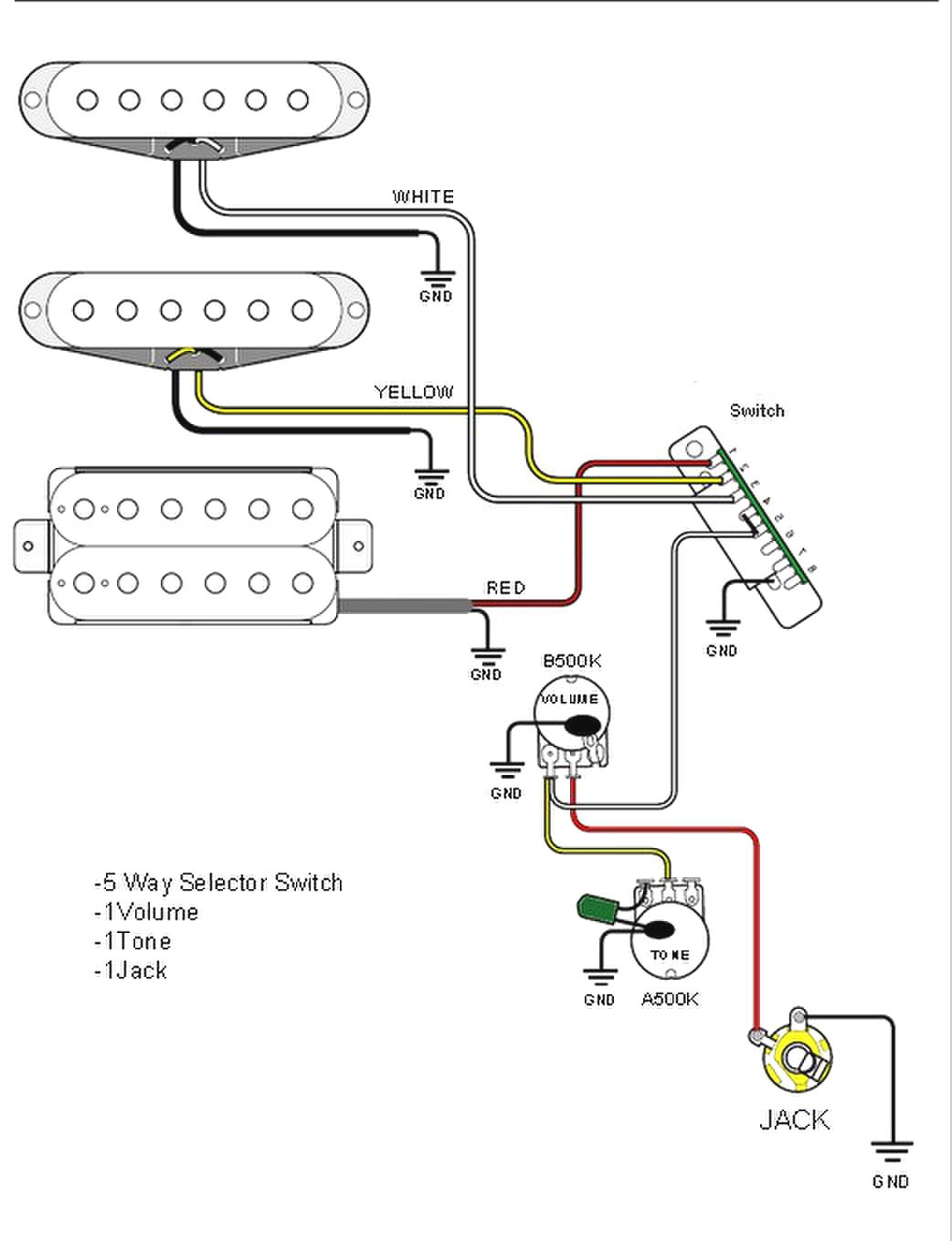 stratocaster wiring diagram 5 way switch Collection-Jeff Baxter Strat Wiring Diagram In Strat Wiring 1-j