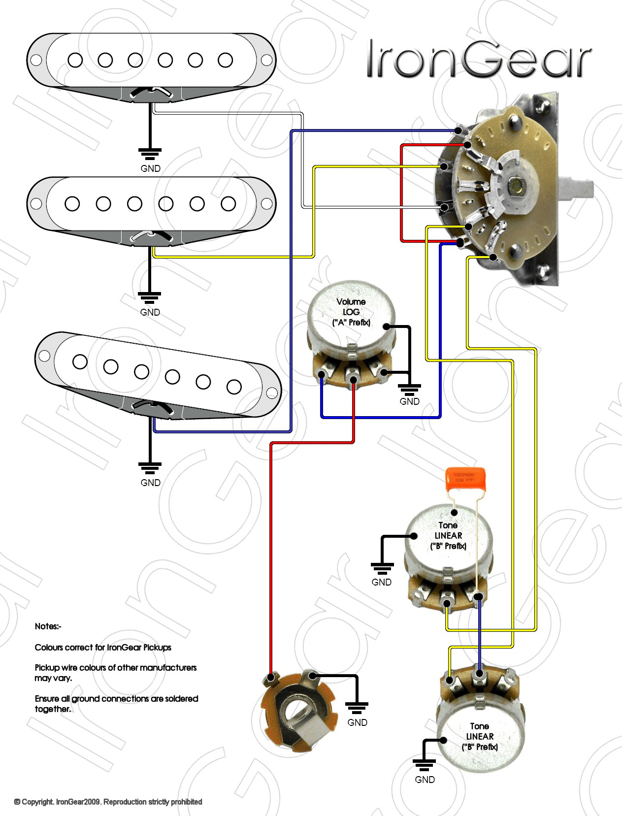 stratocaster wiring diagram 5 way switch Collection-Les Paul Switch Wiring Diagram Best Guitar Parts From Axetec 5 Position Lever Switches 14-g