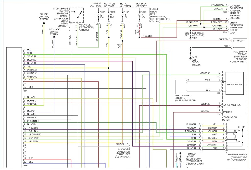 subaru legacy wiring diagram Collection-Astounding Subaru Forester Wiring Harness Diagram Best 7-j