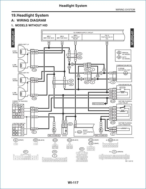 subaru outback wiring diagram Collection-2011 Subaru Outback Fuse Diagram Wiring Diagram Manual 6-s