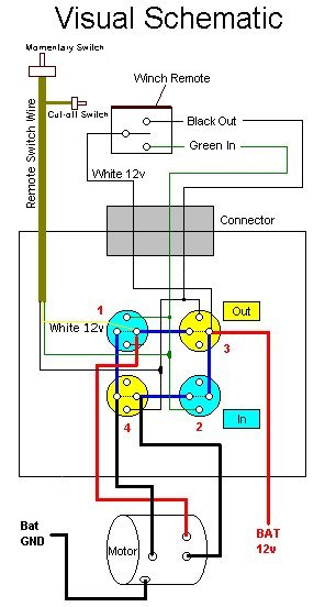 superwinch x3 wiring diagram Download-Ramsay 8000 wiring diagram remote schematic2 10-j