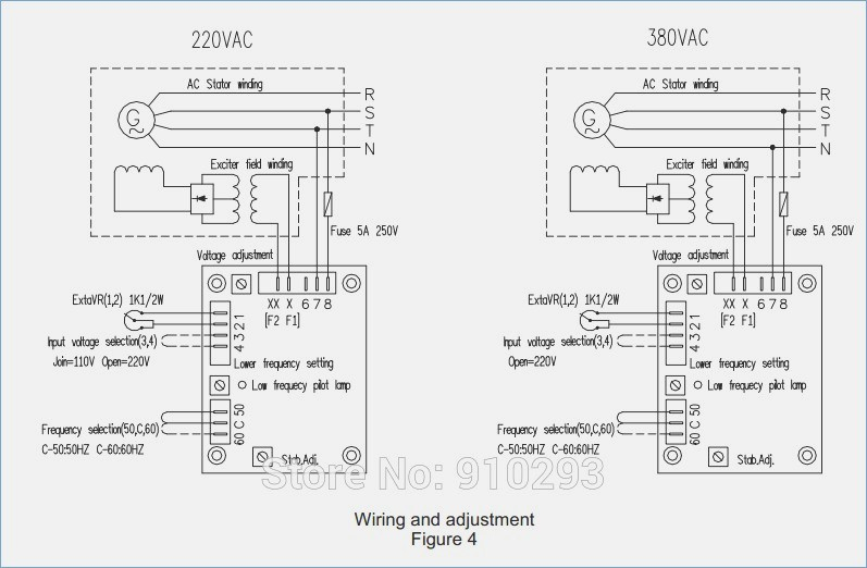 sx460 avr wiring diagram Download-Sx460 Avr Wiring Diagram Beautiful Stamford Alternator Wiring Diagram Manual & Stamford Generator 1-i