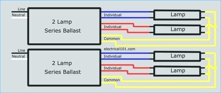 t12 ballast wiring diagram Collection-4 lamp t12 ballast wiring diagram wire center u2022 rh insidersa co GE T12 Ballast Wiring Diagram Philips Advance Ballast Wiring Diagram 4-f