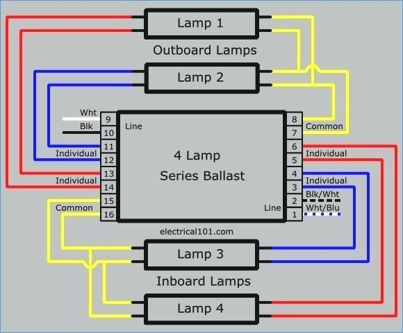 t12 ballast wiring diagram Collection-how to wire a 2 lamp ballast single lamp ballast wiring diagram how to wire a how to wire a 2 lamp ballast ballast diagram 16-b