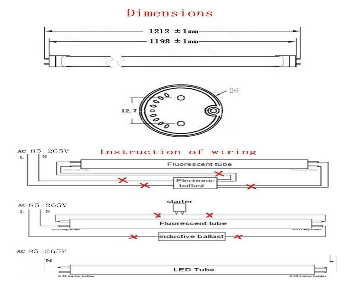 t8 led wiring diagram Download-The installation of T8 linear constant current LED tube Wiring diagram for LED tube light 19-i