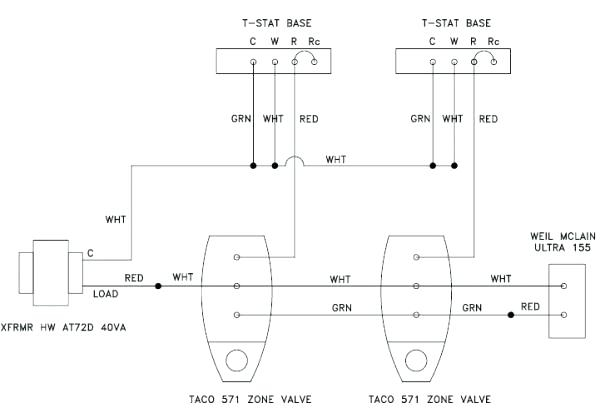 taco 571 zone valve wiring diagram collection