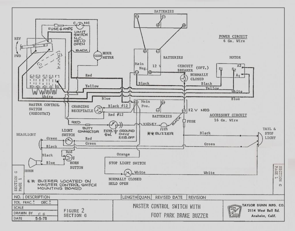 taylor dunn wiring diagram Collection-Taylor Dunn Wiring Diagram New Nice Taylor Dunn Wiring Diagram Ideas Best For Wiring 6-e