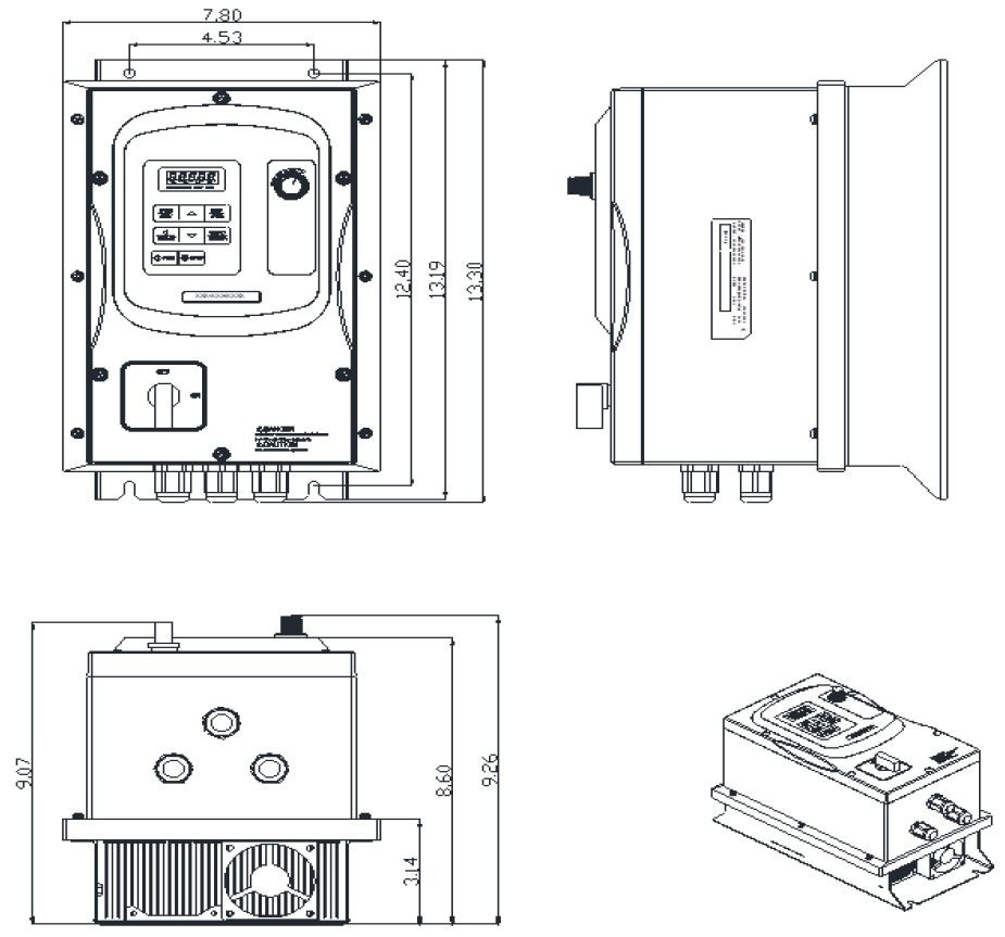 teco westinghouse motor wiring diagram Collection-AC Drive 5hp 460V 3 Phase 18-n