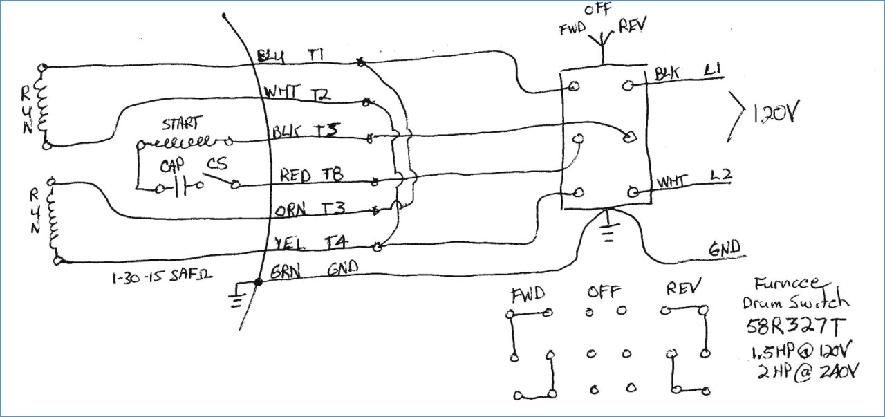 teco westinghouse motor wiring diagram Collection-Teco Motor Wiring Diagram – personligcoachfo 4-g