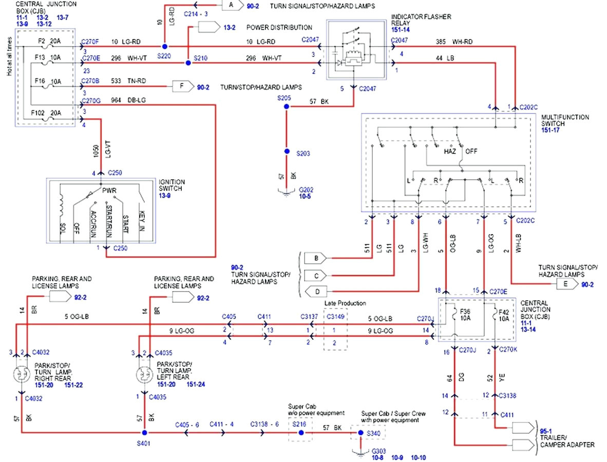 2001 Ford Truck Wiring Diagram