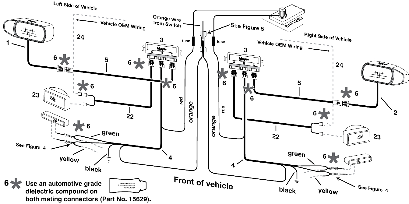 the boss snow plow wiring diagram Collection-Boss Snow Plow Wiring Diagram Within 13-b