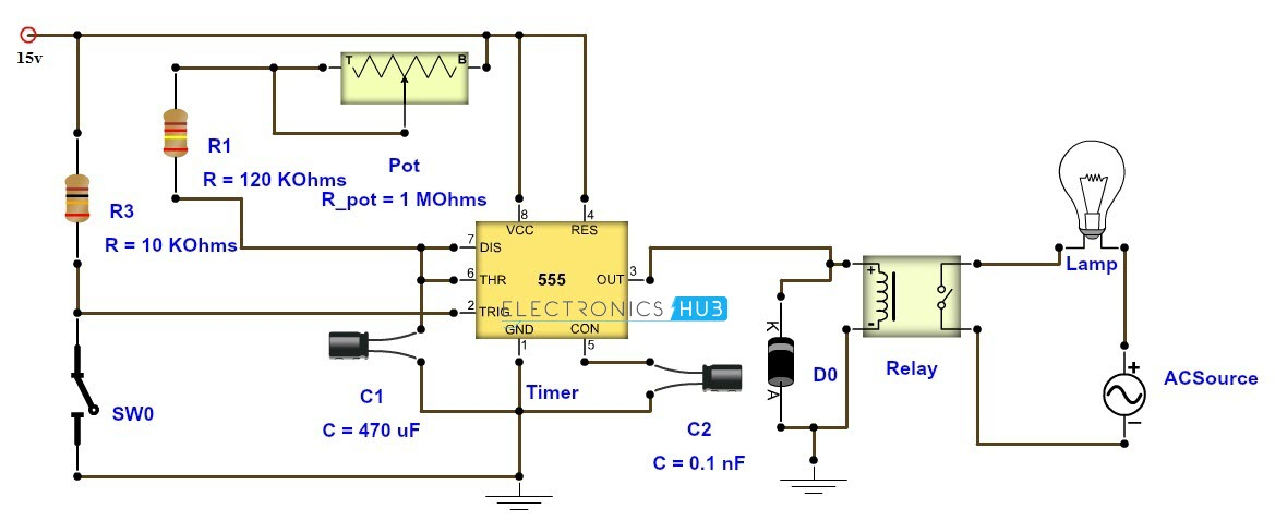 Time Delay Relay Wiring Diagram Download