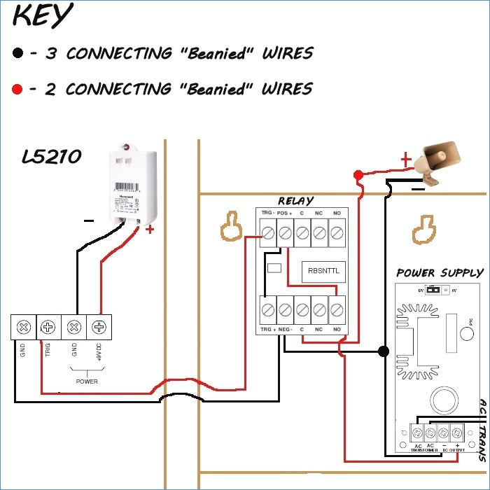 touch dimmer wiring diagram Download-Honeywell Sirenkit Od Outdoor Siren Kit for Lynx touch Control 13-g