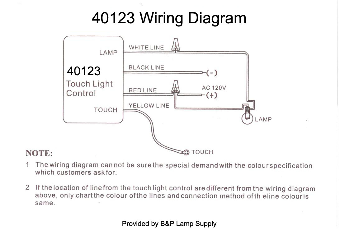 touch dimmer wiring diagram Download-Wiring Instructions 16-g