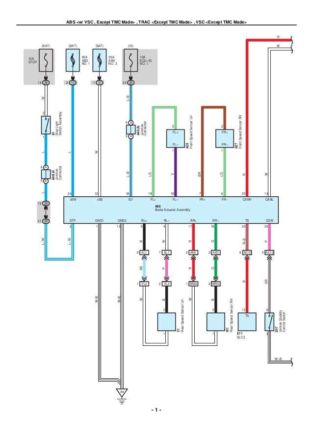 toyota corolla stereo wiring diagram Download-2009 2010 toyota corolla electrical wiring diagrams 1 638 9-k