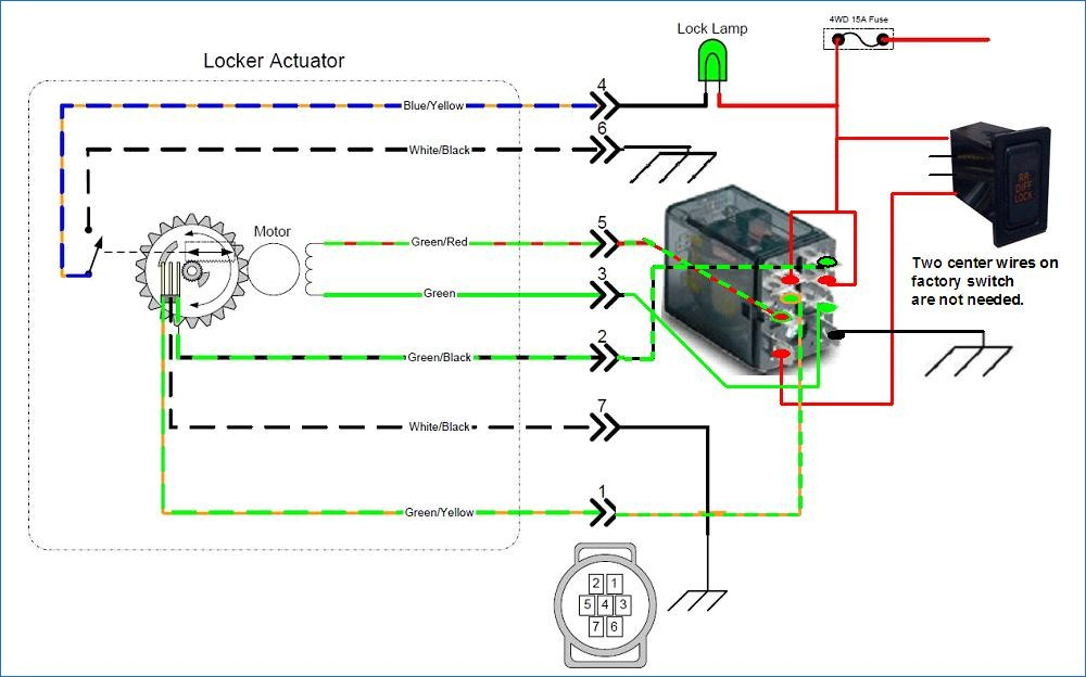 toyota e locker wiring diagram Download-E Locker Wiring Help Please YotaTech Forums 5-m