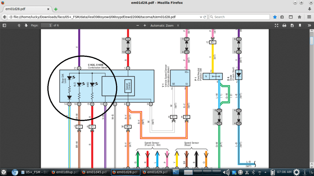toyota e locker wiring diagram Download-While I was at it I also replaced my switches for front rear and bed lights with OTRATTW SPST LED red top blue bottom C tura V s that match the elocker 20-k