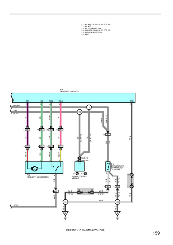 toyota e locker wiring diagram Download-WIRING DIAGRAMS from links above saved to my photobucket account to ensure they remain available 8-j