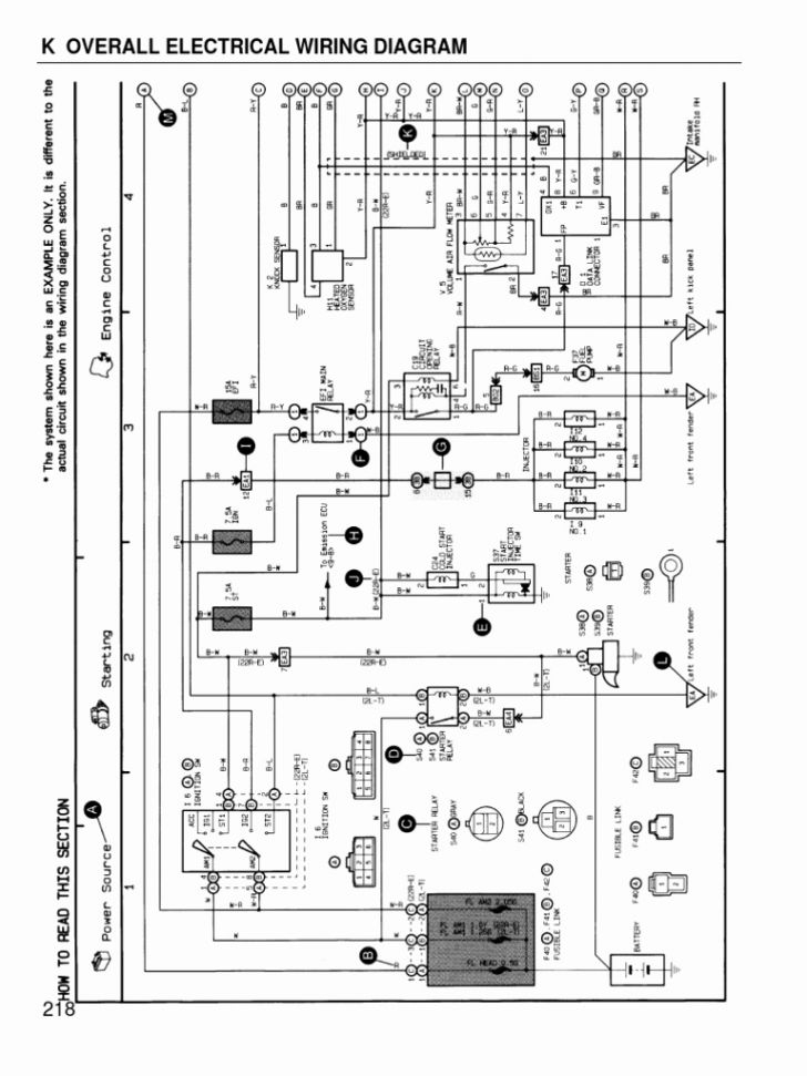 Toyota Electrical Wiring Diagram Gallery Wiring Collection