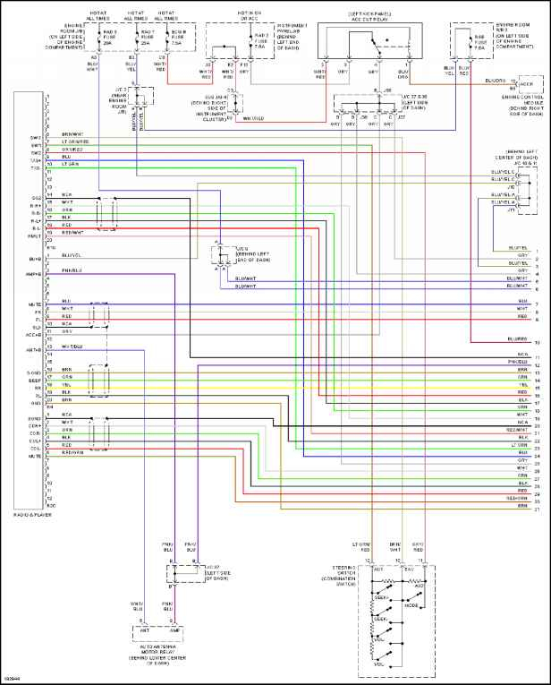 toyota tundra stereo wiring diagram Collection-2006 sequoia stereo wiring diagram wiring data rh retrotrek co 2001 Toyota Sequoia Fuel Pump Wiring 13-k