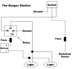 trailer light tester wiring diagram Download-Using Relays To Wiring f Road Lights And Accessories 7-o
