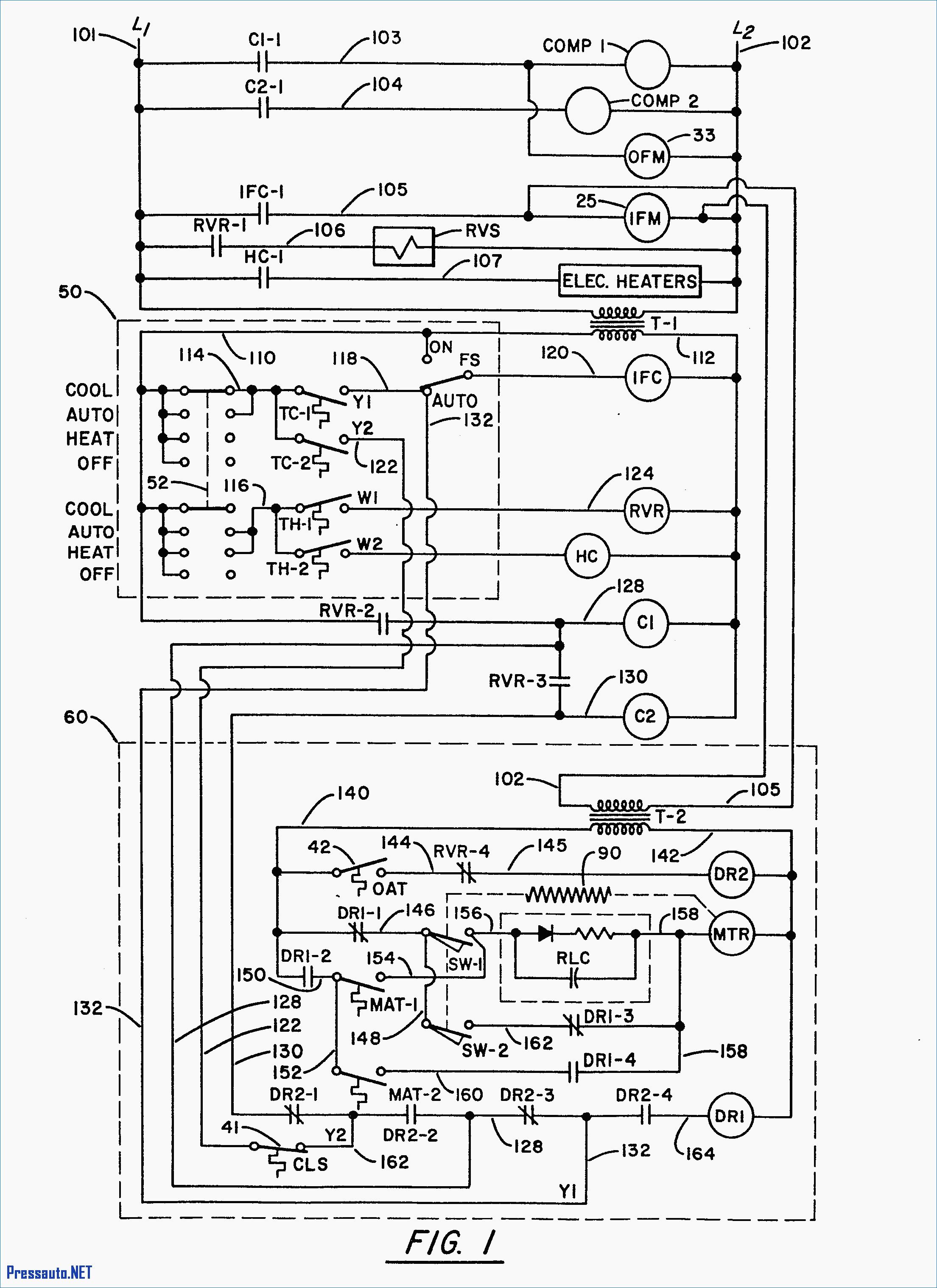 trane rooftop unit wiring diagram Collection-Trane Ac Wiring Diagram Best Fresh York Rooftop Unit Wiring Diagram Wiring 9-a