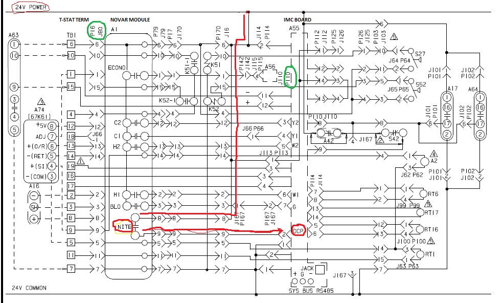 trane rooftop unit wiring diagram Collection-York Rooftop Unit Wiring Diagram Trane Economizer Wiring Diagrams 12-d