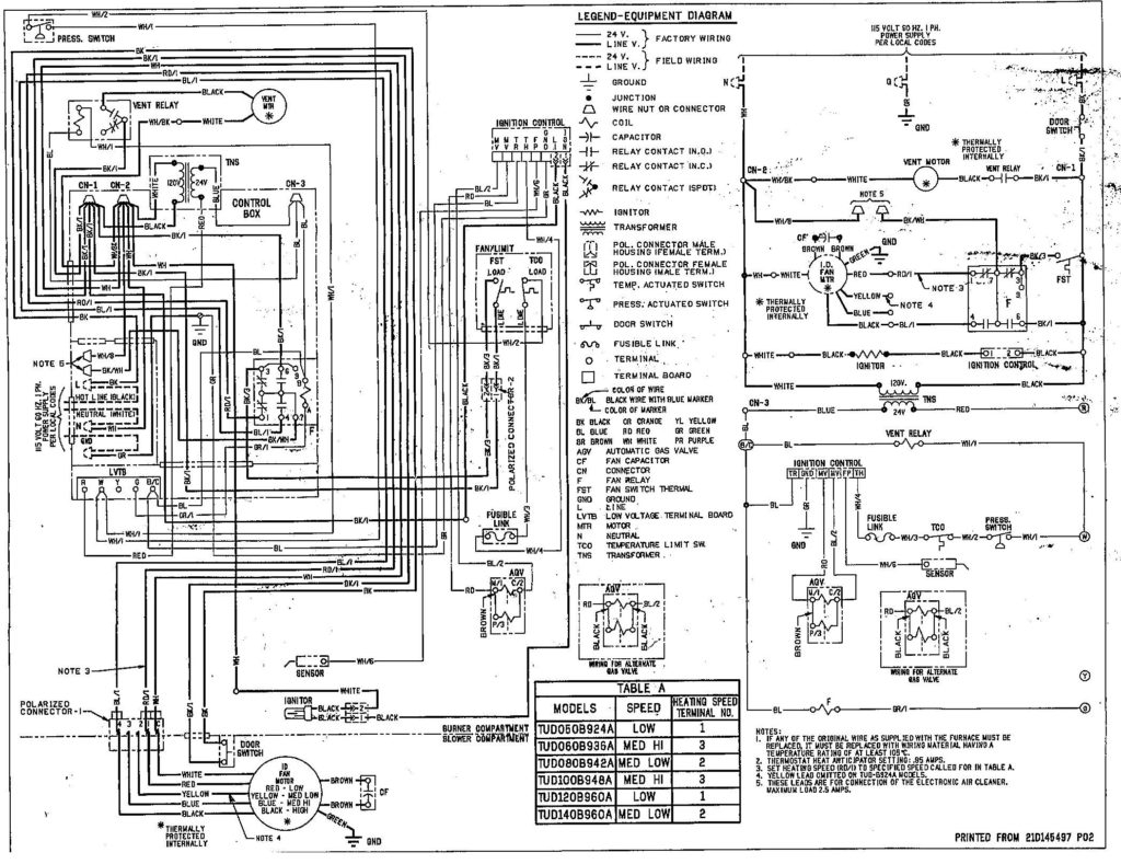 trane ycd 060 wiring diagram Download-Trane Heat Pump Wiring Diagram Thermostat With 9-a