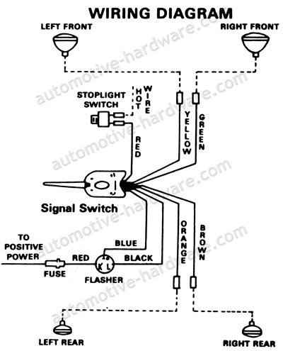 turn signal switch wiring diagram collection