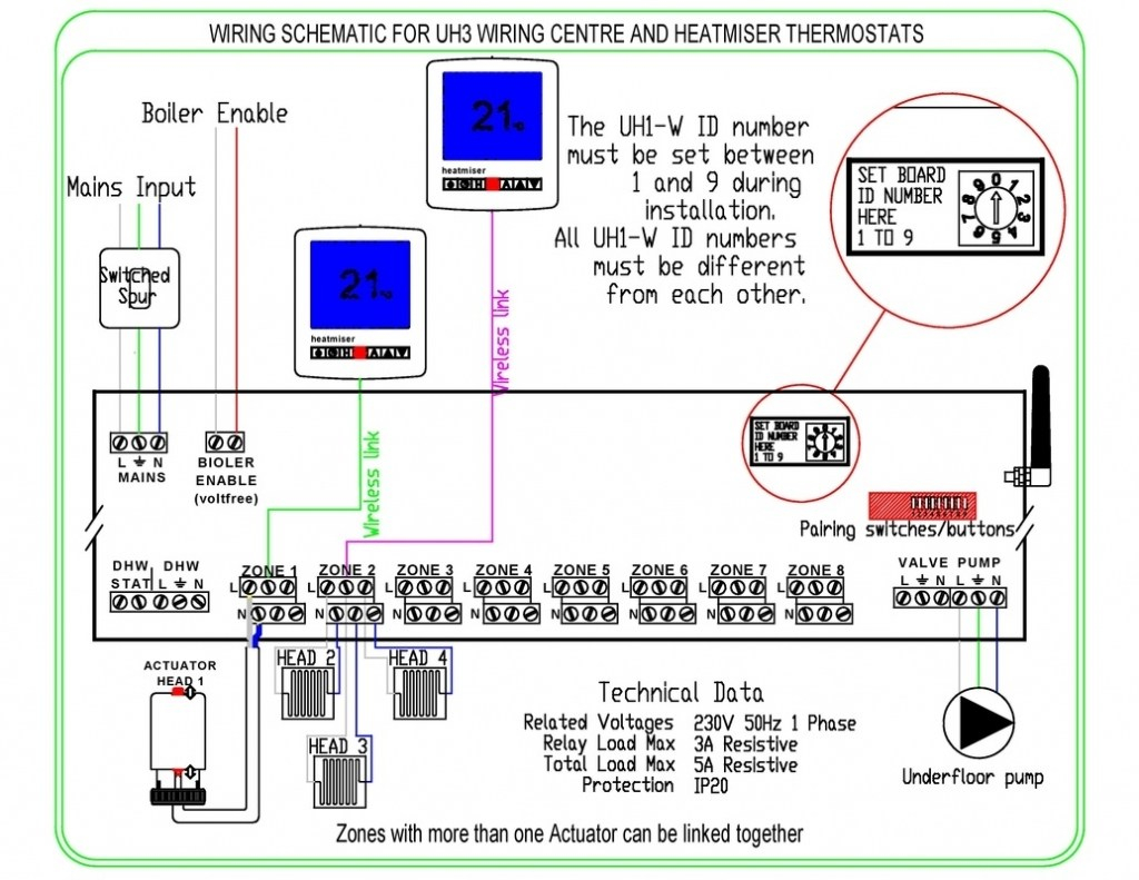 underfloor heating thermostat wiring diagram Download-Underfloor Heating thermostat Wiring Diagram Unique Electric Underfloor Heating Wiring Diagram Wiring Diagram 7-d