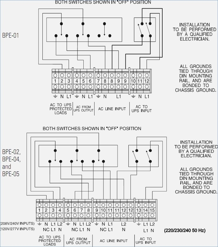 ups bypass switch wiring diagram Download-Ups Maintenance Bypass Switch Wiring Diagram in Ups Maintenance 16-p