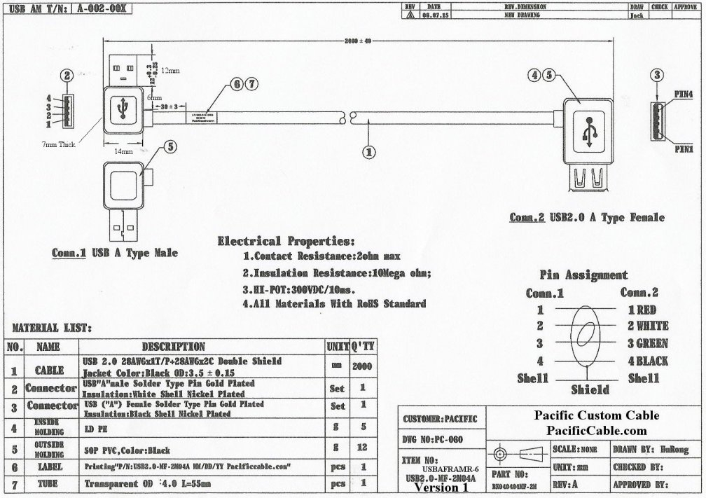 usb to rj45 cable wiring diagram Download-Usb Female to Female Adapter Wiring Diagram Unique Usbaframr 6 Usb A Male Right Angle to 13-t
