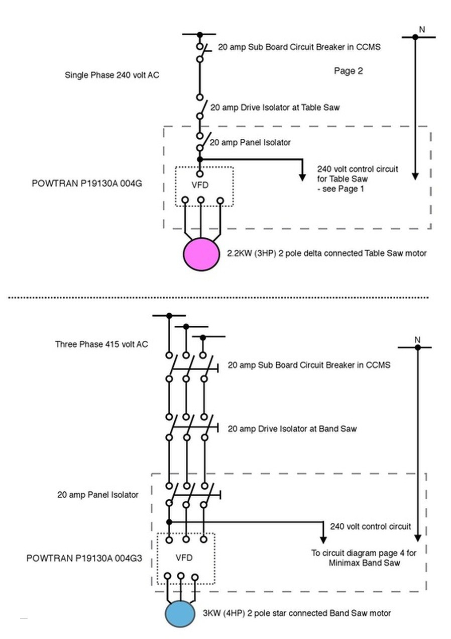 vfd panel wiring diagram sample